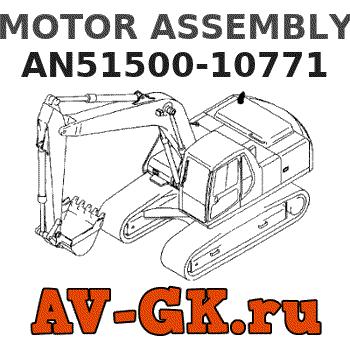 JEENDA Blower Motor 24V for Kobelco SK210-8 SK220-8 Komatsu WA150-6 WA150PZ-6 WA200-6 WA200PZ-6 WA250-6 WA250PZ-6 WA320-6 WA320PZ-6 WA380-6 WA430-6 WA500-6 WA500-6R AN51500-10770 AN51500-10771