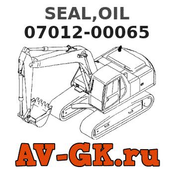 SEAL,OIL 07012-00065 KOMATSU