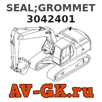 CUMMINS 3042401 SEAL NEW
