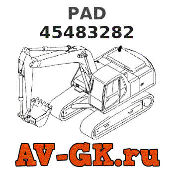 New.Holland 45483282 PAD