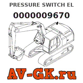 Volvo 0000009670 PRESSURE SWITCH EL