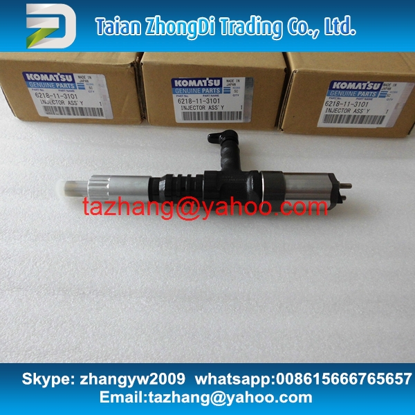 Denso genuine fuel injector 095000-0562 / 6218-11-3101/ 6218113101 for PC600-8 SA6D140